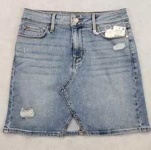 NWT Sanctuary Leo Five-Pocket Denim Mini Skirt